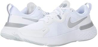 Nike React Miler (White/Metallic Silver/Pure Platinum) Women's Running Shoes