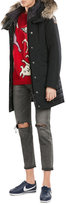 Parajumpers Angie Down Jacket with Fur-Trimmed Hood