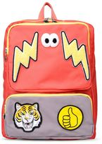 Stella McCartney red rocket backpack