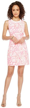 Lilly Pulitzer Mila Shift (Coral Reef Beside the Point) Women's Dress