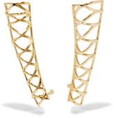 Noir Gold-tone ear cuffs