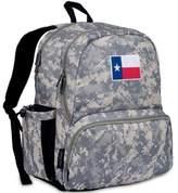 State of Mind Texas Flag Megapak Backpack in Green