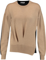 Jil Sander Two-tone wool sweater