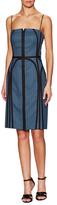 O'2nd Honeycomb Line Sheath Dress