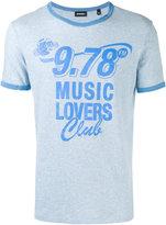 Diesel Music Lovers T-shirt - men - Cotton - S