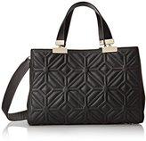 Trina Turk Modern Muse Quilt Satchel Top Handle Bag