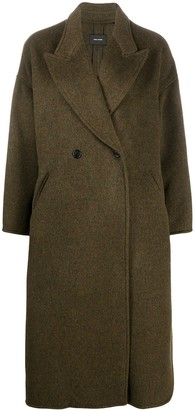 Isabel Marant Single-Breasted Mid-Length Coat