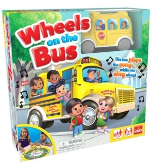 Goliath Games Wheels On The Bus Game
