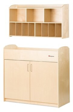 Foundations Next Generation Serenity Changing Table Dresser and Shelving Unit