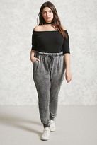 Forever 21 FOREVER 21+ Plus Size Faded Joggers