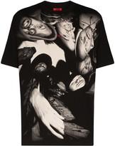 Thumbnail for your product : 424 Wu-Tang-print T-shirt