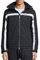 J. Lindeberg Ski Sitkin Waterproof Houndstooth Jacket