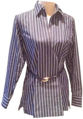 Lauren Ralph Lauren Blue Cotton Top for Women