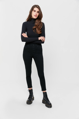 BDG Twig Grazer High-Waisted Skinny Jean - Black