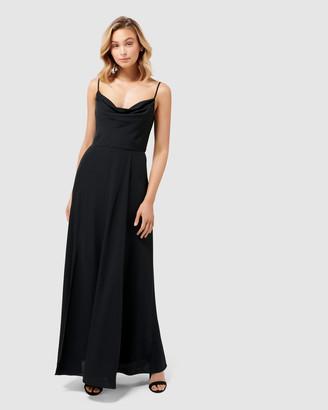 Forever New Crista Cowl Neck Maxi Dress