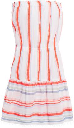 Lemlem Striped Cotton-blend Jacquard Coverup