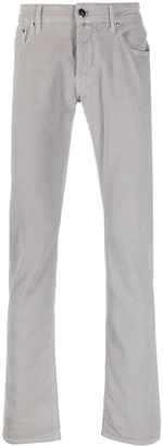 Jacob Cohen Comfort Fit straight leg corduroy trousers