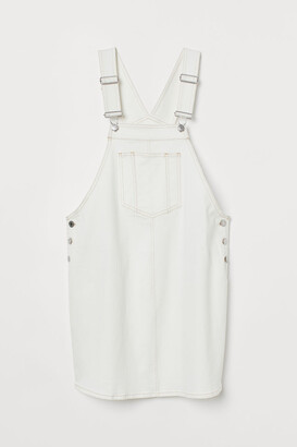 H&M MAMA Overall Dress - White