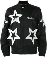 Kokon To Zai star appliqué bomber jacket