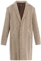 A.P.C. Manteau Baron wool-blend coat