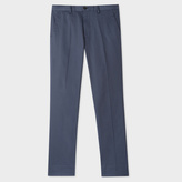 Paul Smith Men's Slim-Fit Slate Grey Cotton-Twill Stretch Chinos