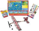 T.S. Shure Rubber Band Powered Rescue Flier Model Plane Kit
