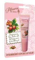 Rose And Co Patisserie De Bain STRAWBERRY CUPCAKE Lip Balm Tube 10ml