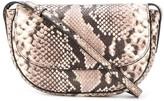 Frenzlauer snakeskin-effect cross body bag