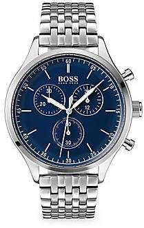 HUGO BOSS Men's Companion Stainless Steel Chronograph Watch