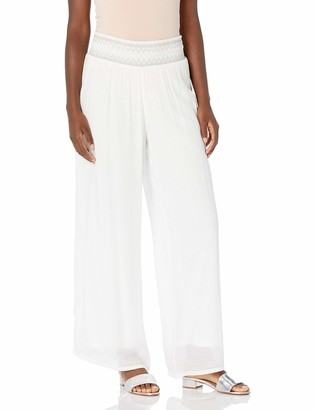 Amy Byer Women's Wide Leg Gauzy Pants