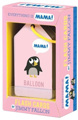 Mudpuppy x Jimmy Fallon Flash Cards Everything is Mama