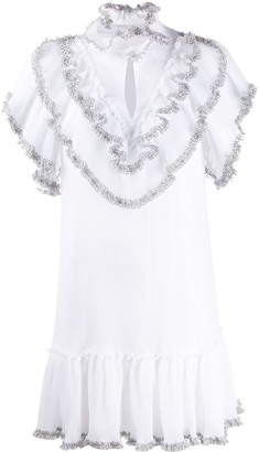 See by Chloe Ruffle Short-Sleeve Dress