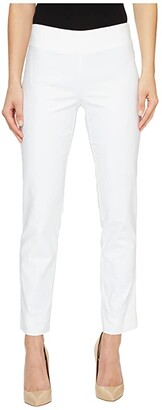 Nic+Zoe The Perfect Pants Modern Slim Ankle (Paper White) Women's Casual Pants