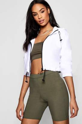 boohoo Crop Windbreaker