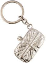 Alexander McQueen Britannia Clutch Keychain