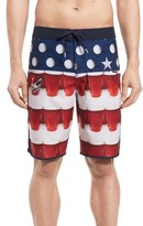 O'Neill 'Hyperfreak - Beer Pong' Board Shorts