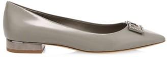 Tory Burch Gigi Embellished Leather Flats