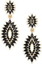 INC International Concepts Gold-Tone Spiky Stone Drop Earrings, Created for Macy's
