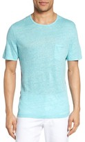 Zachary Prell Men's Monad Colorblock Linen T-Shirt