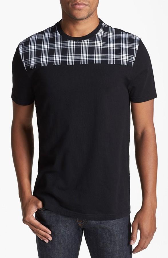 Topman Pattern Yoke T-Shirt