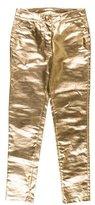 Moschino Metallic Skinny Jeans