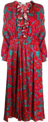 Magda Butrym Ruffled Neckline Dress