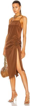 KENDRA DUPLANTIER Maris Dress in Brown | FWRD