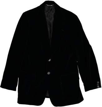 Dolce & Gabbana Black Cotton Suits