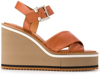 Clergerie Noemie wedge sandals