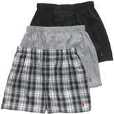Polo Ralph Lauren Polo Men's Underwear, Woven Boxer 3 Pack