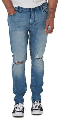ROLLA'S Tim Slims Fast Times Worn Destroyed Slim Fit Jeans