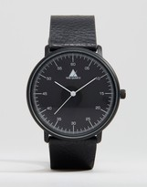Asos Watch in Black With White Hands