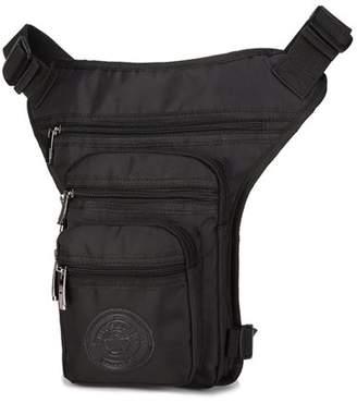 Kadell Motorcycle Waist Leg Bag Drop Waterproof Outdoor Thigh Hip Belt Fanny Pack Pouch