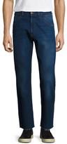 Gucci Fading Slim Fit Cropped Jeans